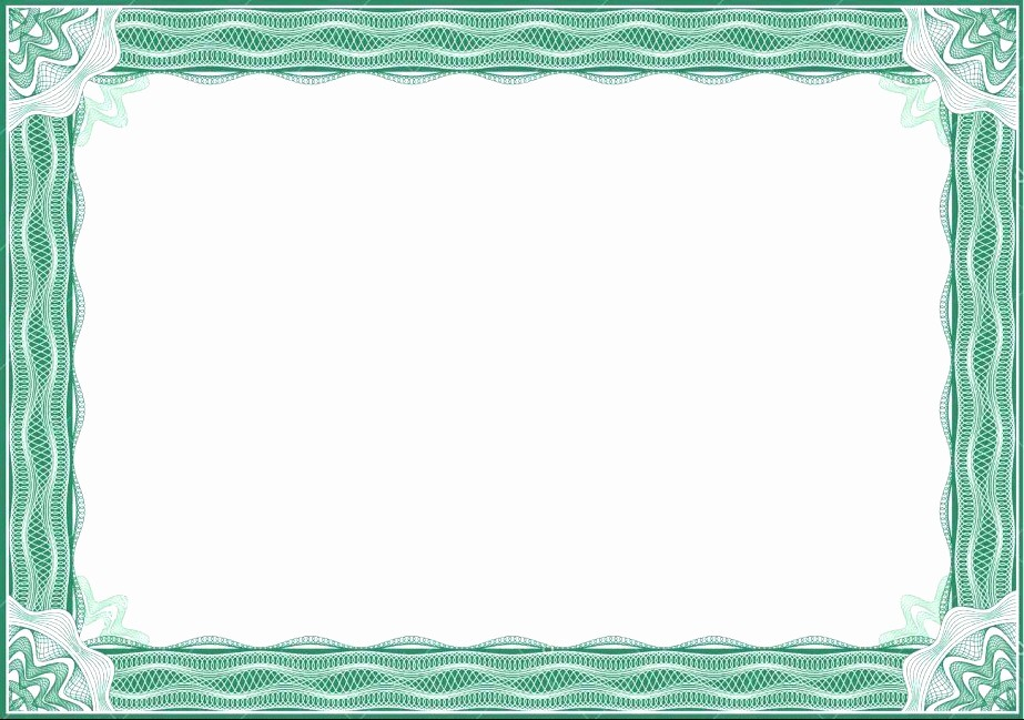 Certificate Border Design Free Download Beautiful 5 Blank Certificate Designs