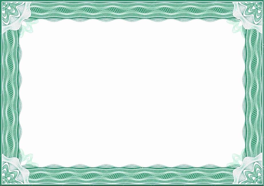 Certificate Border Design Free Download Beautiful 5 Blank Certificate Designs