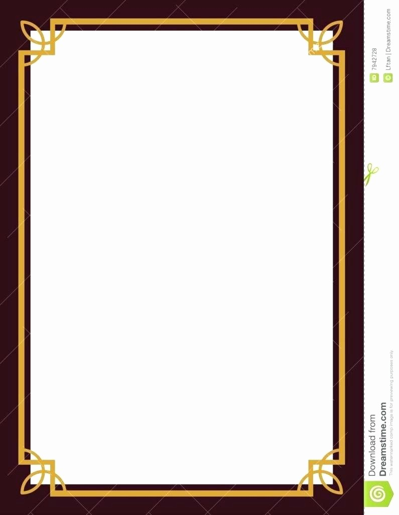 Certificate Border Design Free Download Beautiful Template Certificate Border Design Template Black for