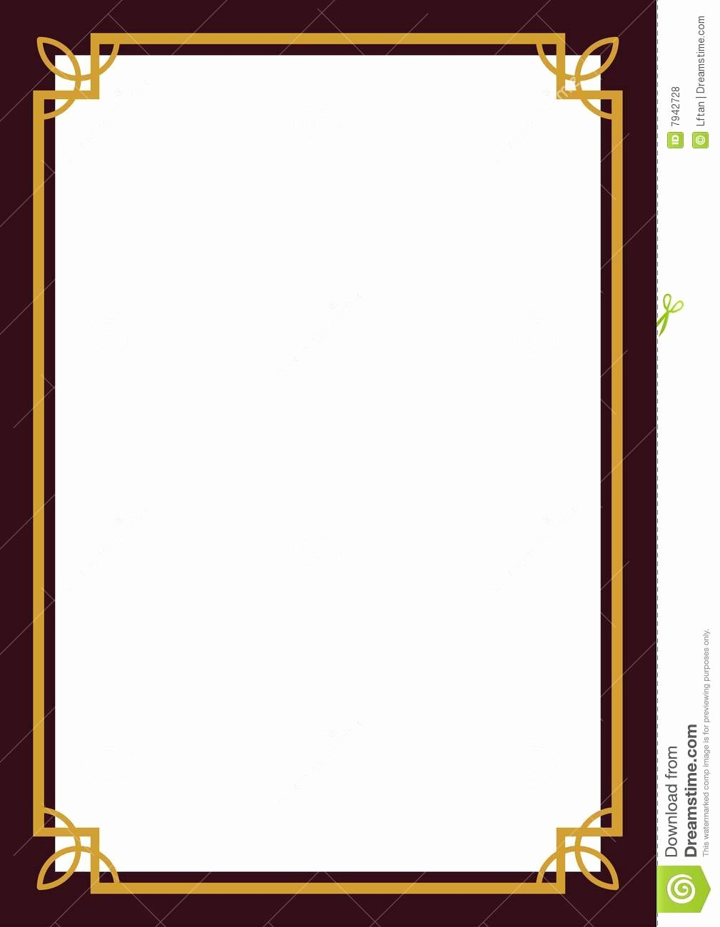 Certificate Border Design Free Download Best Of Certificate Borders Free Download 2018 Free Certificate