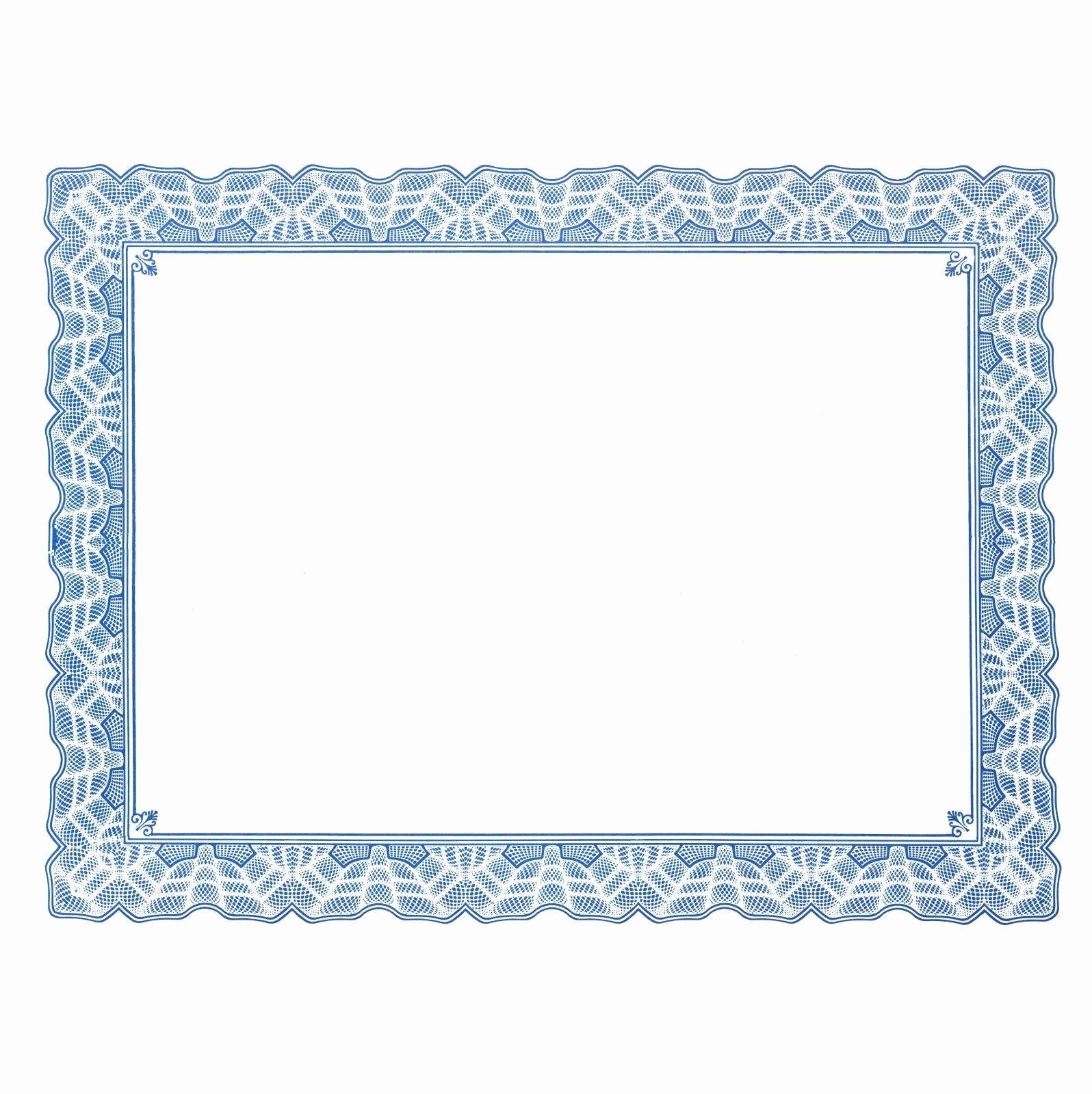 Certificate Border Design Free Download Elegant Free Certificate Border Templates for Word