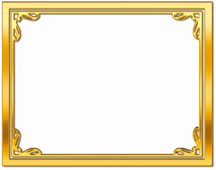 Certificate Border Design Free Download Fresh Certificates Of Achievement Borders