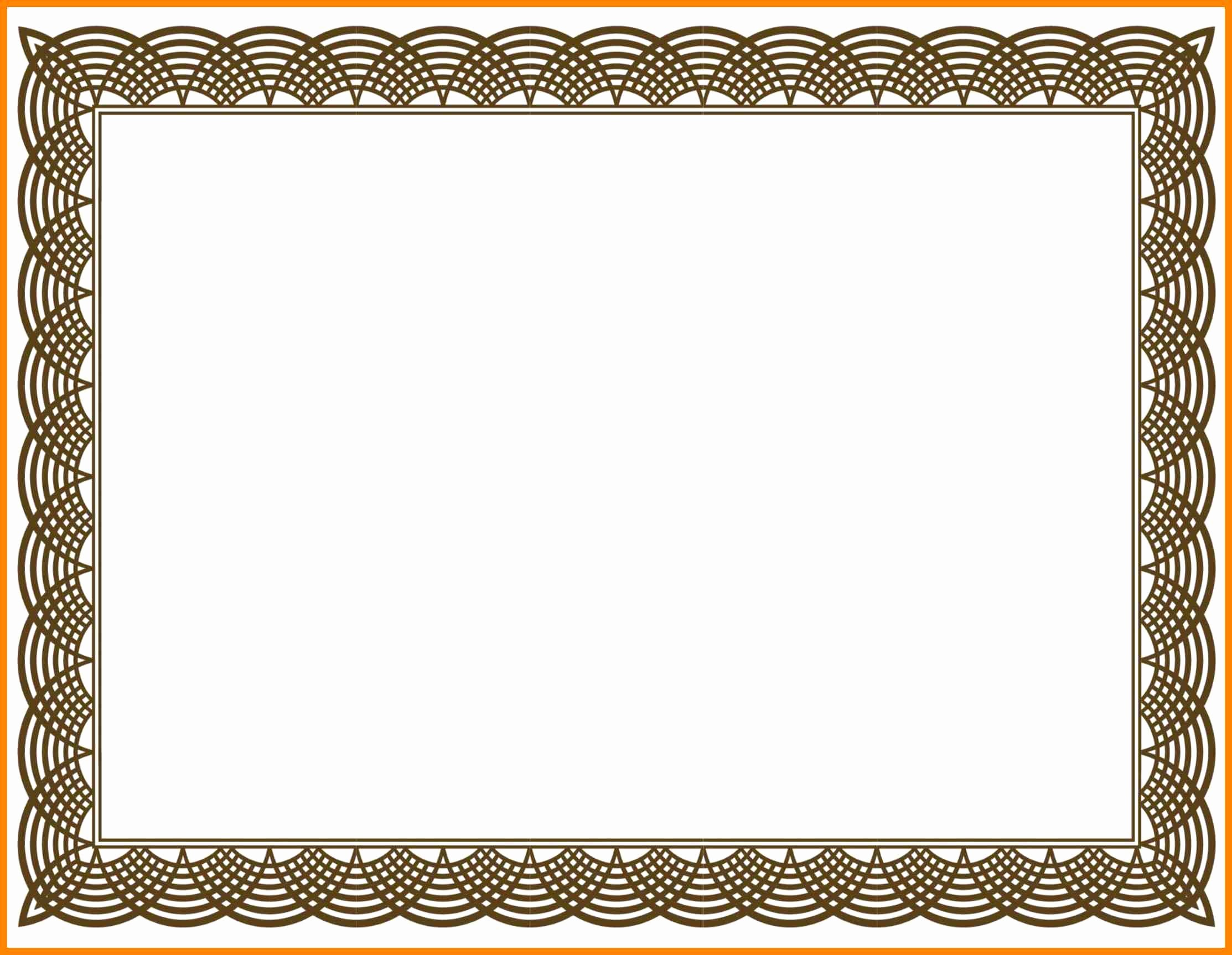 Certificate Border Design Free Download Fresh Collection solutions Border Template Certificate
