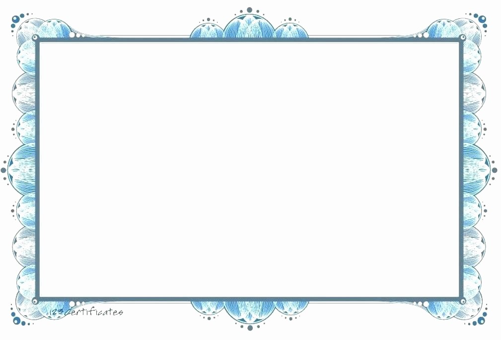 Certificate Border Design Free Download Inspirational Landscape Border Design Certificate Design Borders