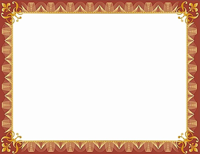 Certificate Border Design Free Download Lovely Vector Europeanstyle Business Education Background