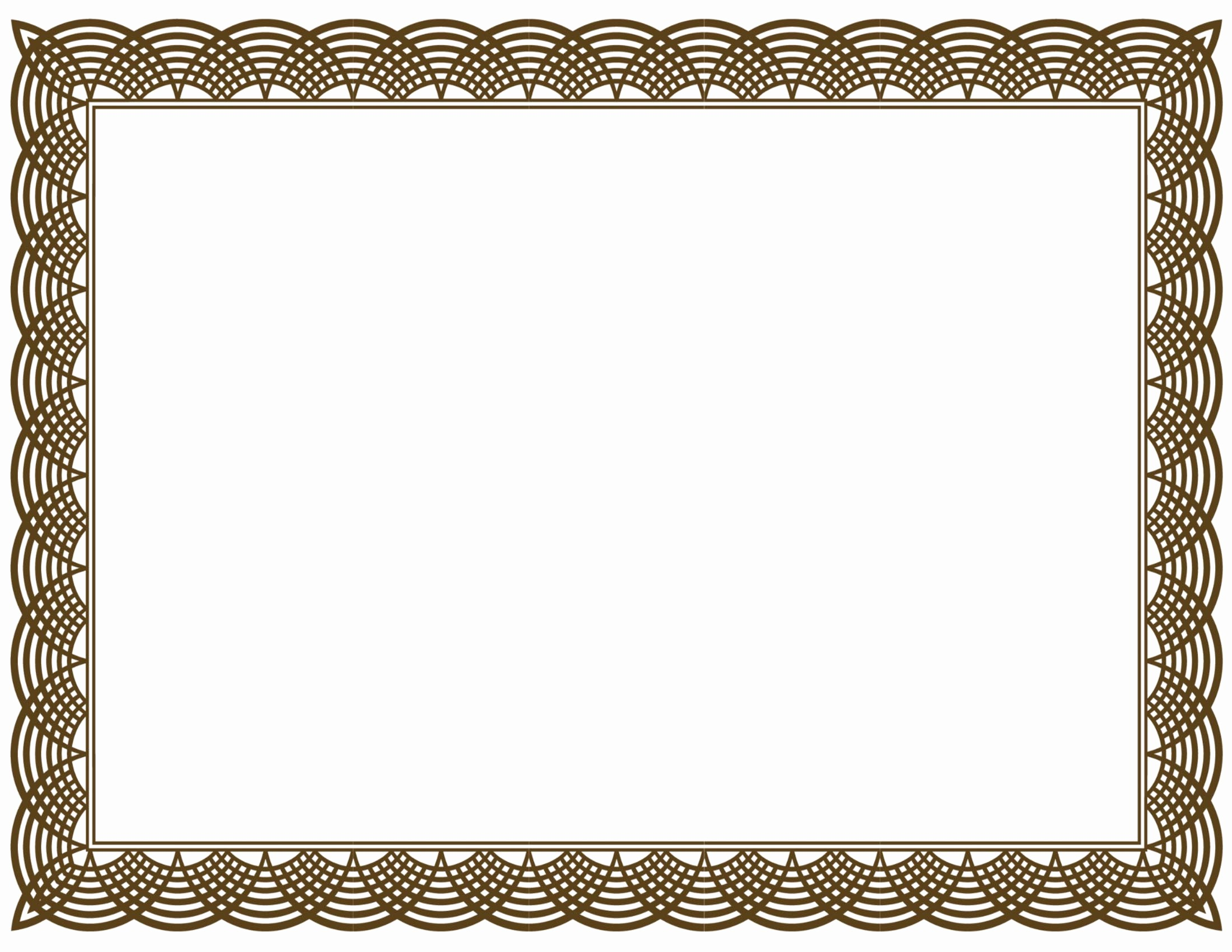 Certificate Border Design Free Download Unique 5 New Certificate Border Templates
