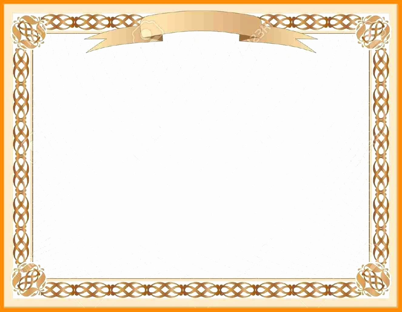 Certificate Border Design Free Download Unique Template Certificate Border Design Template Black for
