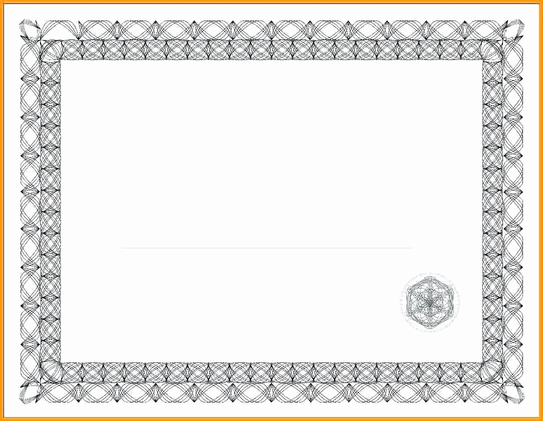 Certificate Border Template for Word Awesome Paycheck Stub Template In Microsoft Word