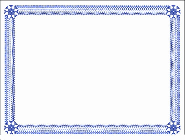 Certificate Border Template for Word Elegant 20 New Certificate Borders