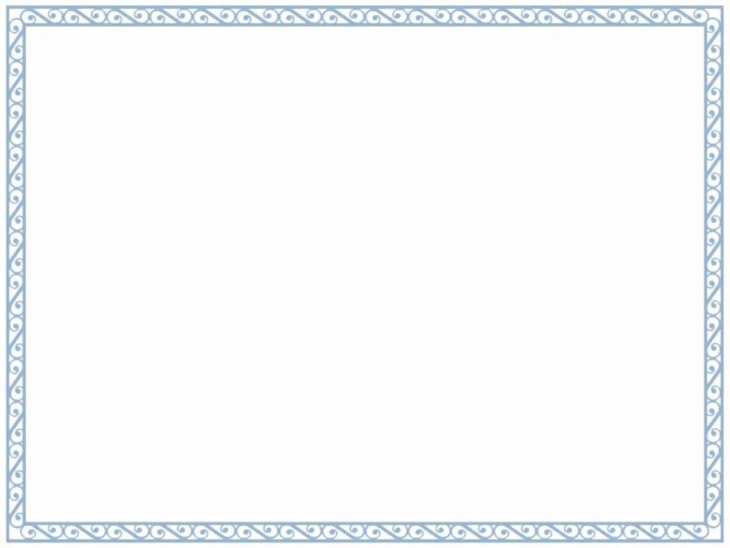 Certificate Border Template for Word Elegant Template Diploma Border Template Certificate Frame for
