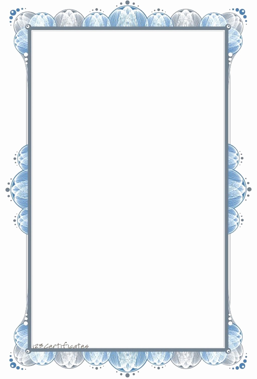 Certificate Border Template for Word Fresh Portrait Certificate Border Templates for Word Clipart