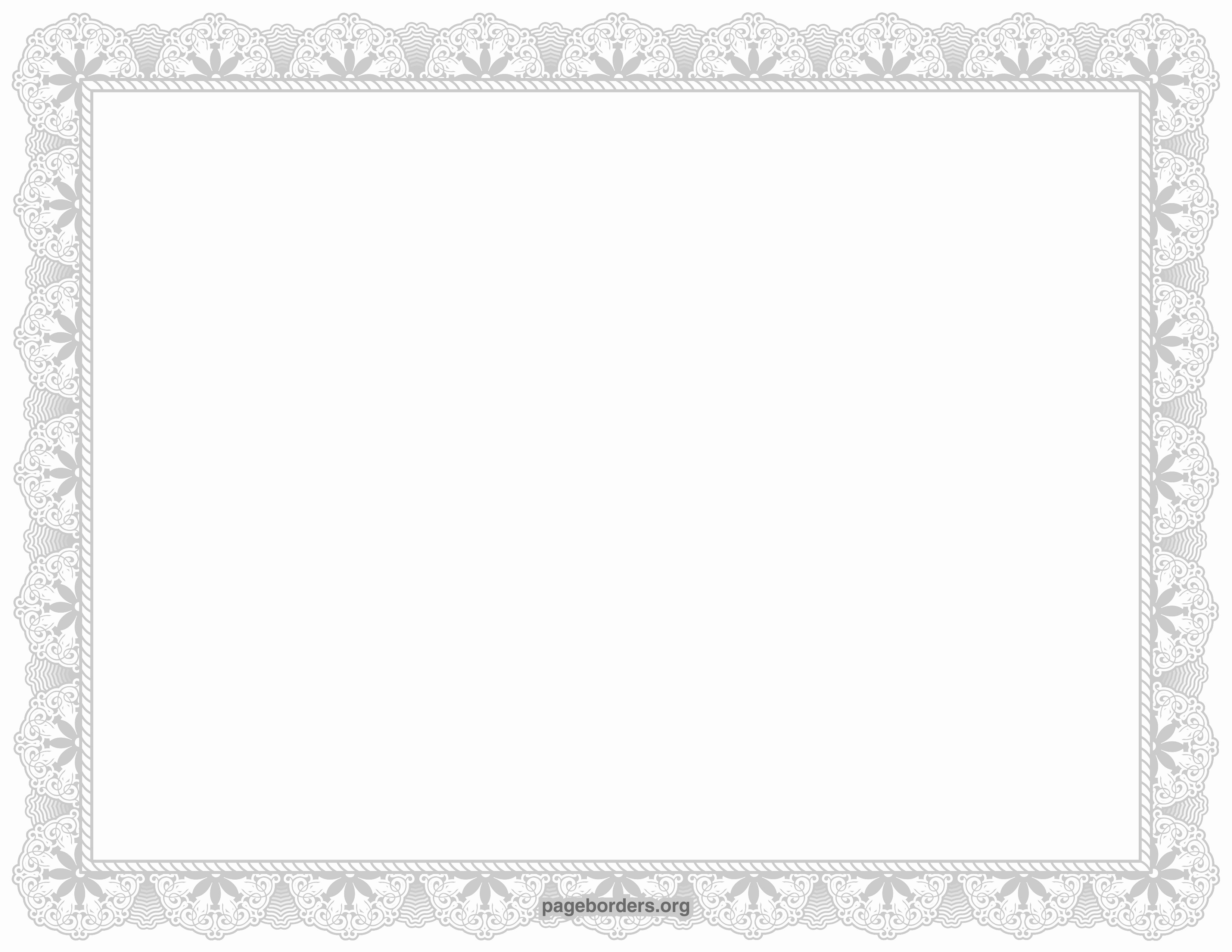 Certificate Border Template for Word Lovely 8 Elegant Certificate Borders Word Paranoidcitroid