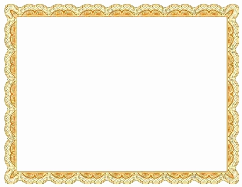 Certificate Border Template for Word Lovely Borders for Certificates In Microsoft Word Best S