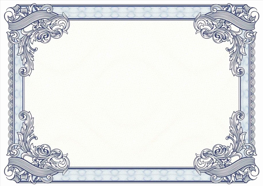Certificate Border Template for Word Lovely Certificate Borders Word Letter Examples Free Templates