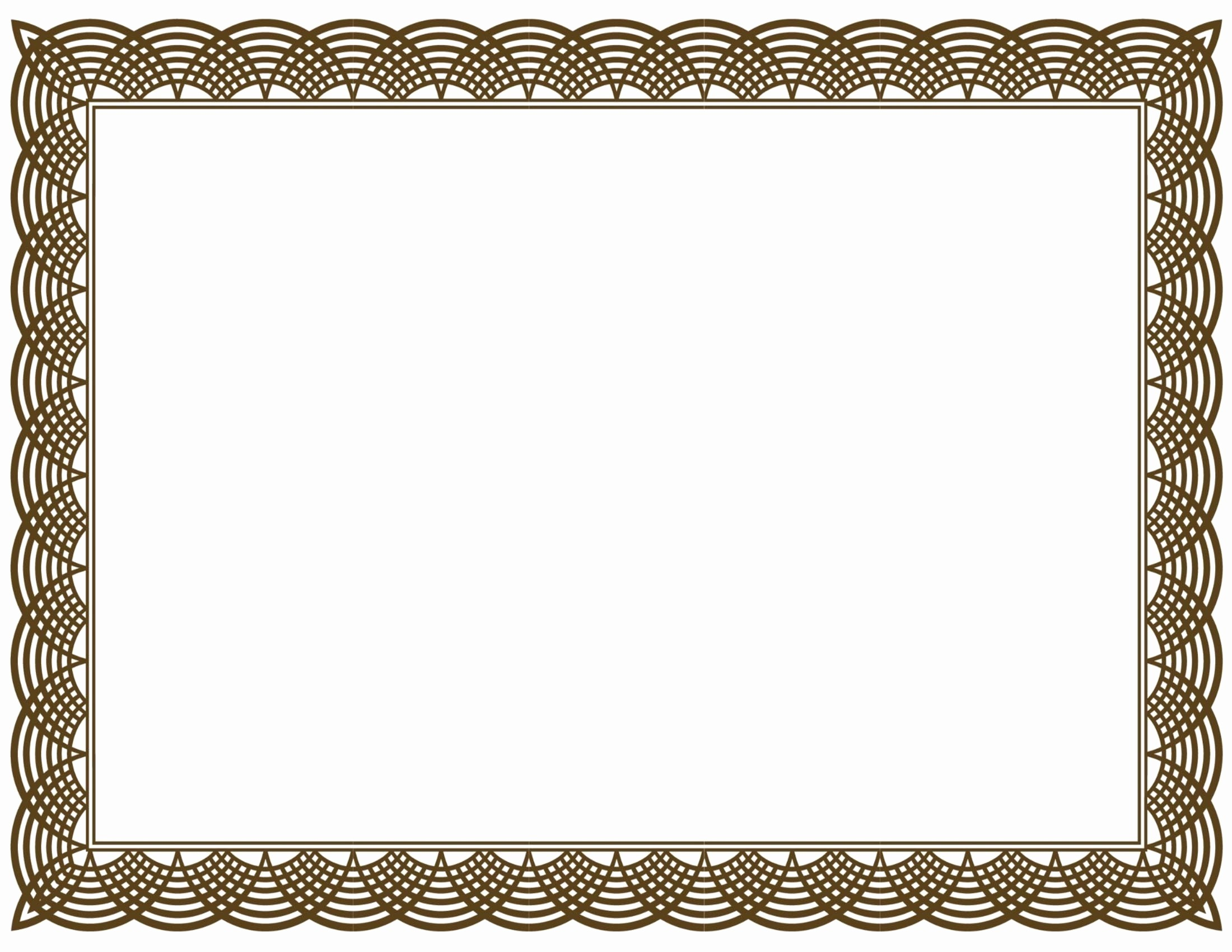 Certificate Border Template for Word Luxury Template Certificate Border Fresh Free Certificate Border