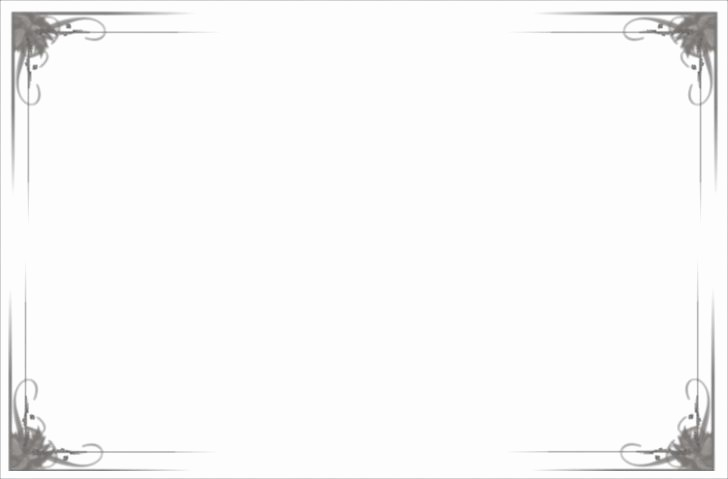 Certificate Border Template for Word New Free Certificate Border Templates for Word Image – Award
