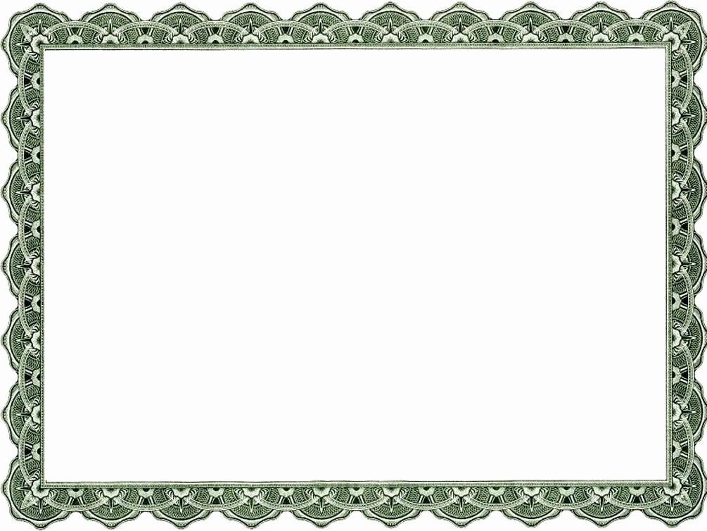 Certificate Border Template for Word Unique Certificate Border Templates Word
