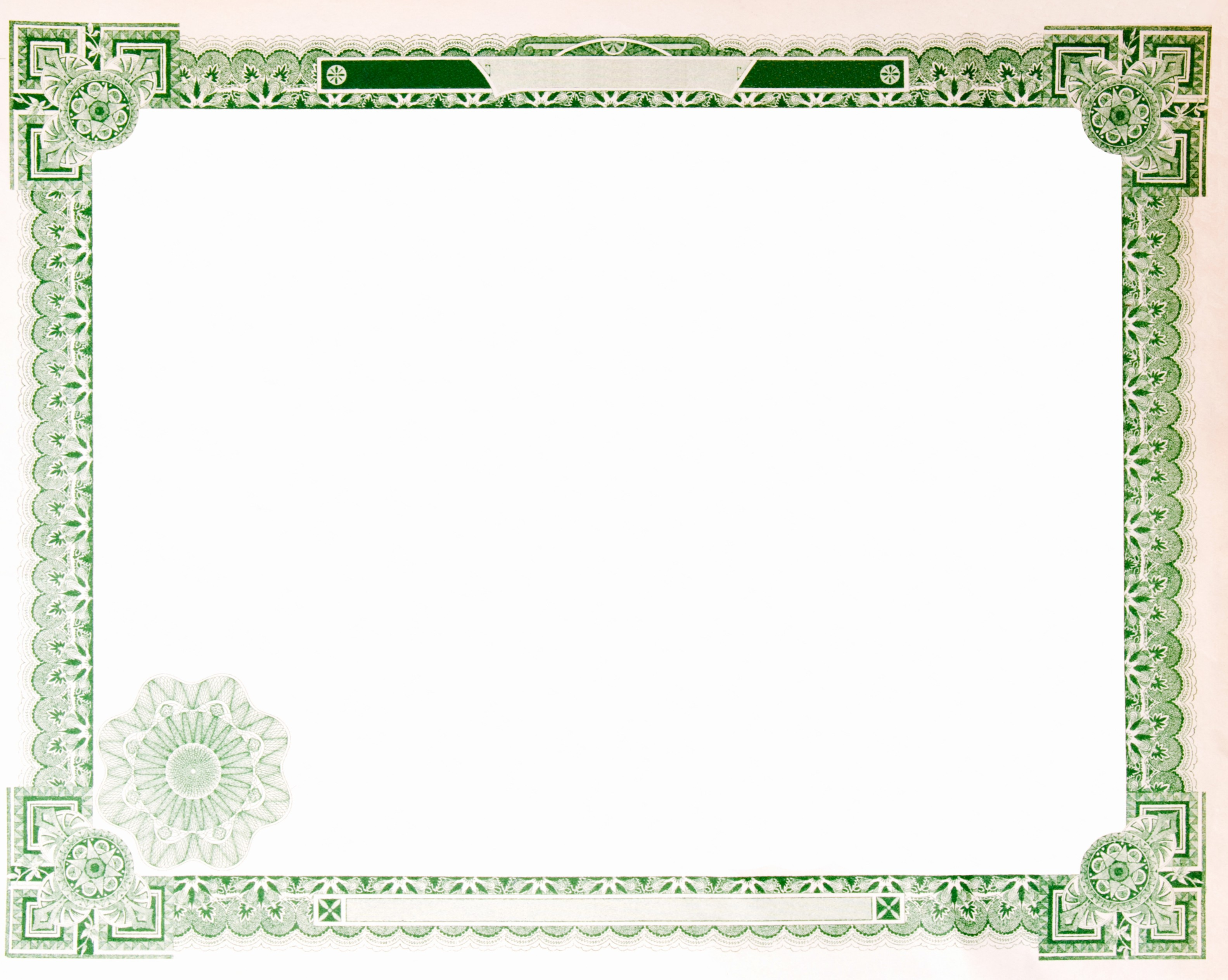 Certificate Border Template for Word Unique Free Documents