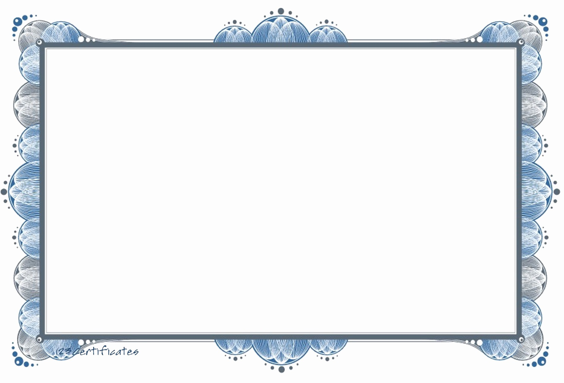 Certificate Design Templates Free Download Awesome Free Certificate Borders to