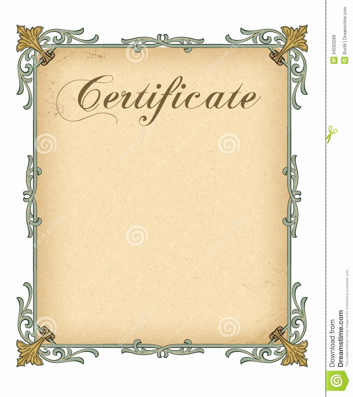 Certificate Design Templates Free Download Fresh Blank Certificate Template Free Download Templates Data