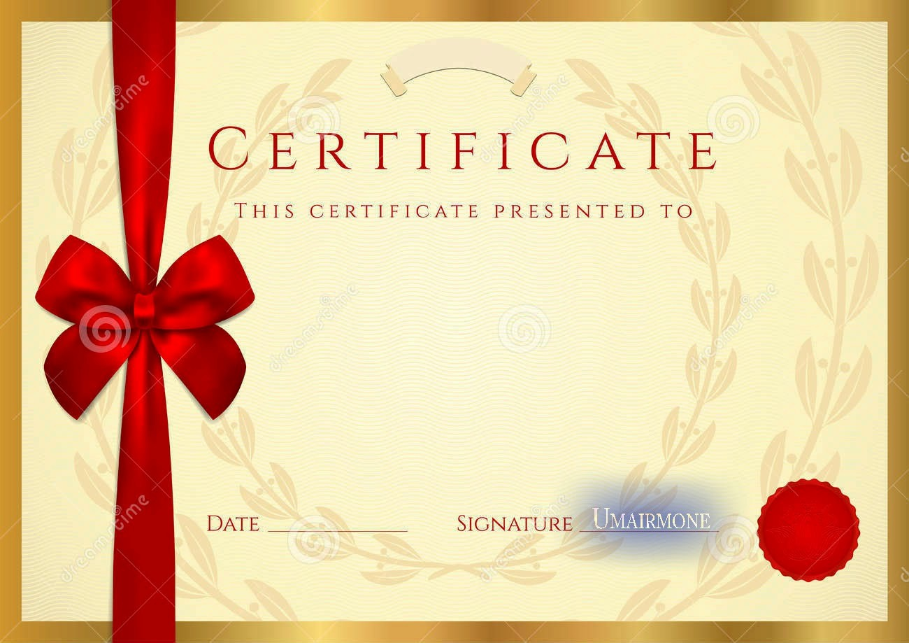 Certificate Design Templates Free Download Luxury Certificate Diploma Elegant Template Vector Free Download