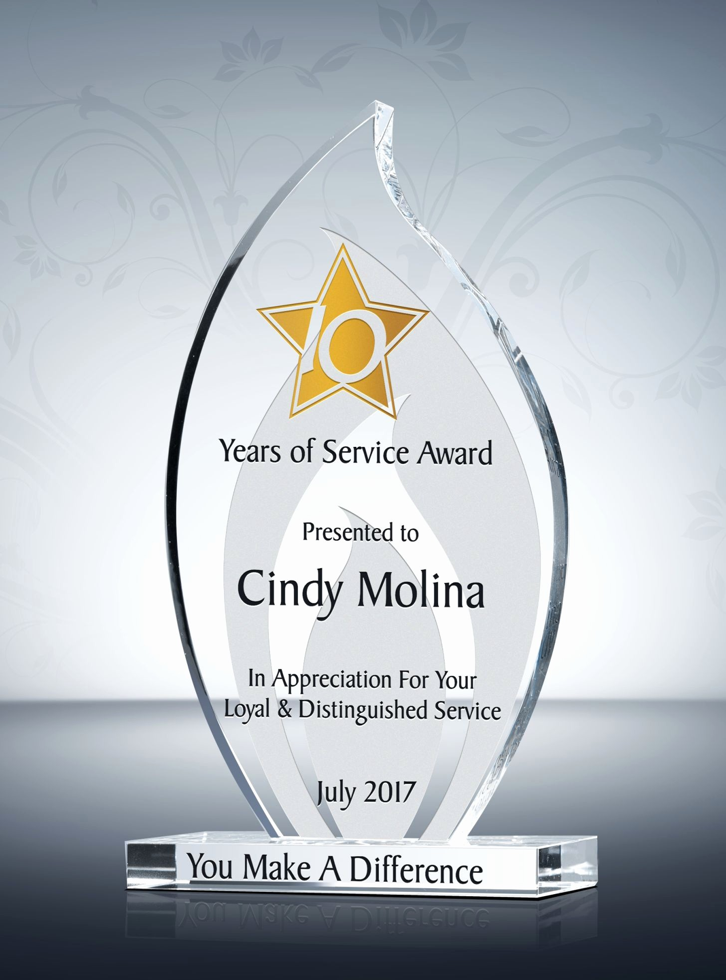 Certificate for Years Of Service Fresh Quotes About 10 Years Of Service 25 Quotes