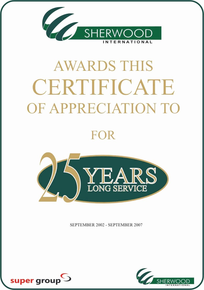 Certificate for Years Of Service Unique Long Service Award Quotes Quotesgram