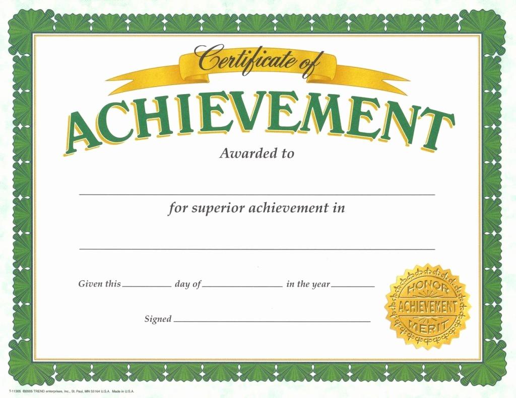 Certificate Of Achievement Free Template Beautiful 10 Pdf Printable School Certificates