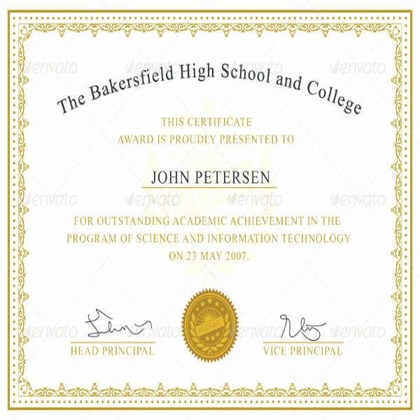 Certificate Of Achievement Free Template Beautiful Certificate Achievement Template 6 Free Pdf