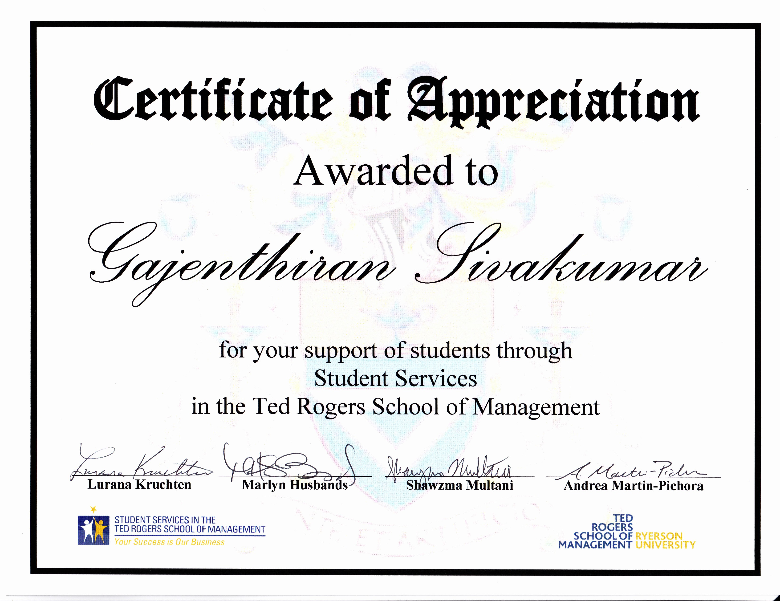 Certificate Of Appreciation for Students Beautiful Awards and Certificates