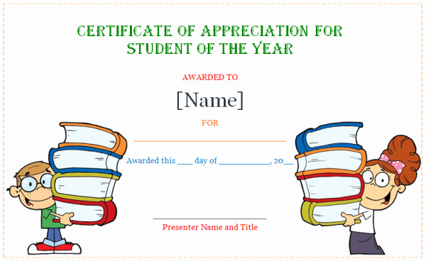 Certificate Of Appreciation for Students Best Of Free Certification Of Appreciation Templates