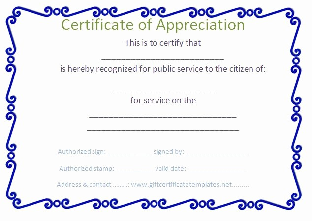 Certificate Of Appreciation for Students Lovely 37 Best Images About Certificate Of Appreciation Templates