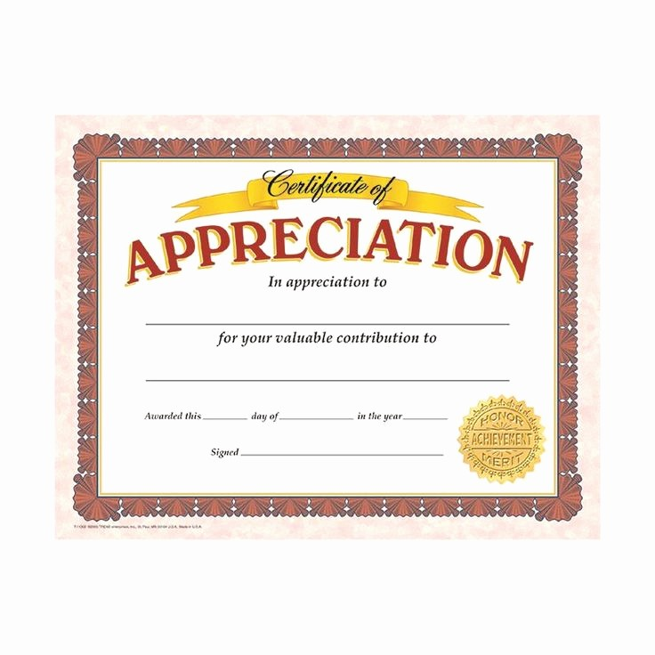 Certificate Of Appreciation for Students Luxury Best 25 Certificate Of Appreciation Ideas On Pinterest