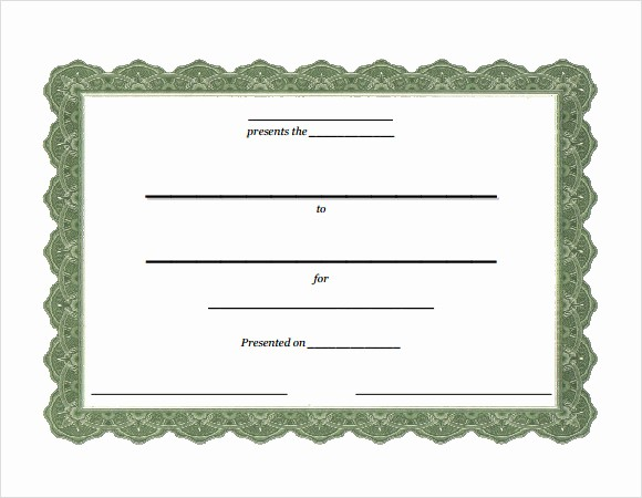 Certificate Of attendance Template Word Best Of 16 Sample attendance Certificate Templates to Download