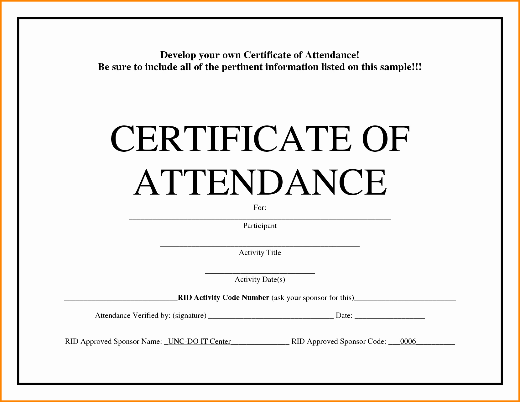Certificate Of attendance Template Word Lovely 20 Pany Certificates