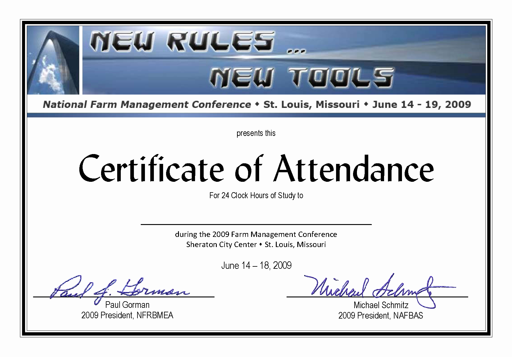 Certificate Of attendance Template Word Lovely Certificate Of attendance Templates