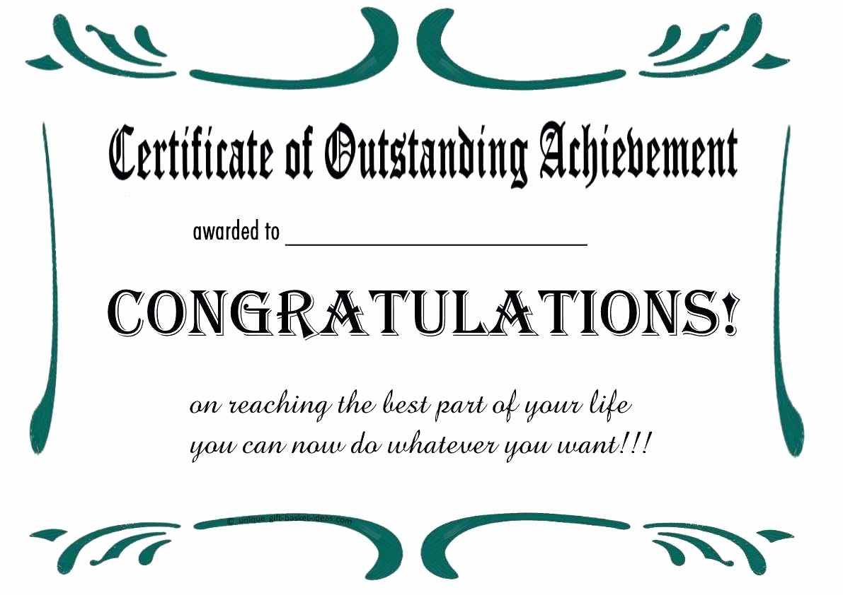 Certificate Of Award Template Free Awesome Template Printable Achievement Certificate Template