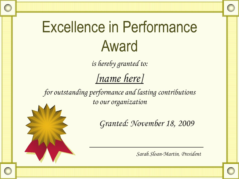 Certificate Of Award Template Free Beautiful Award Templates Example Mughals