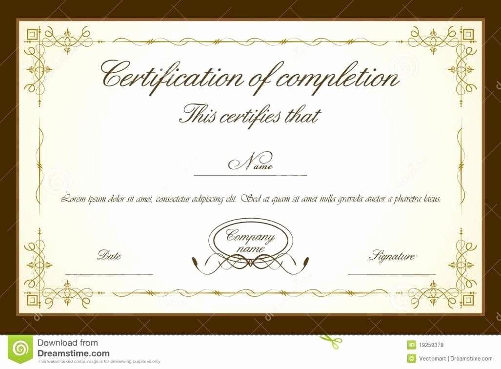 Certificate Of Award Template Free Beautiful Certificate Templates Psd Certificate Templates