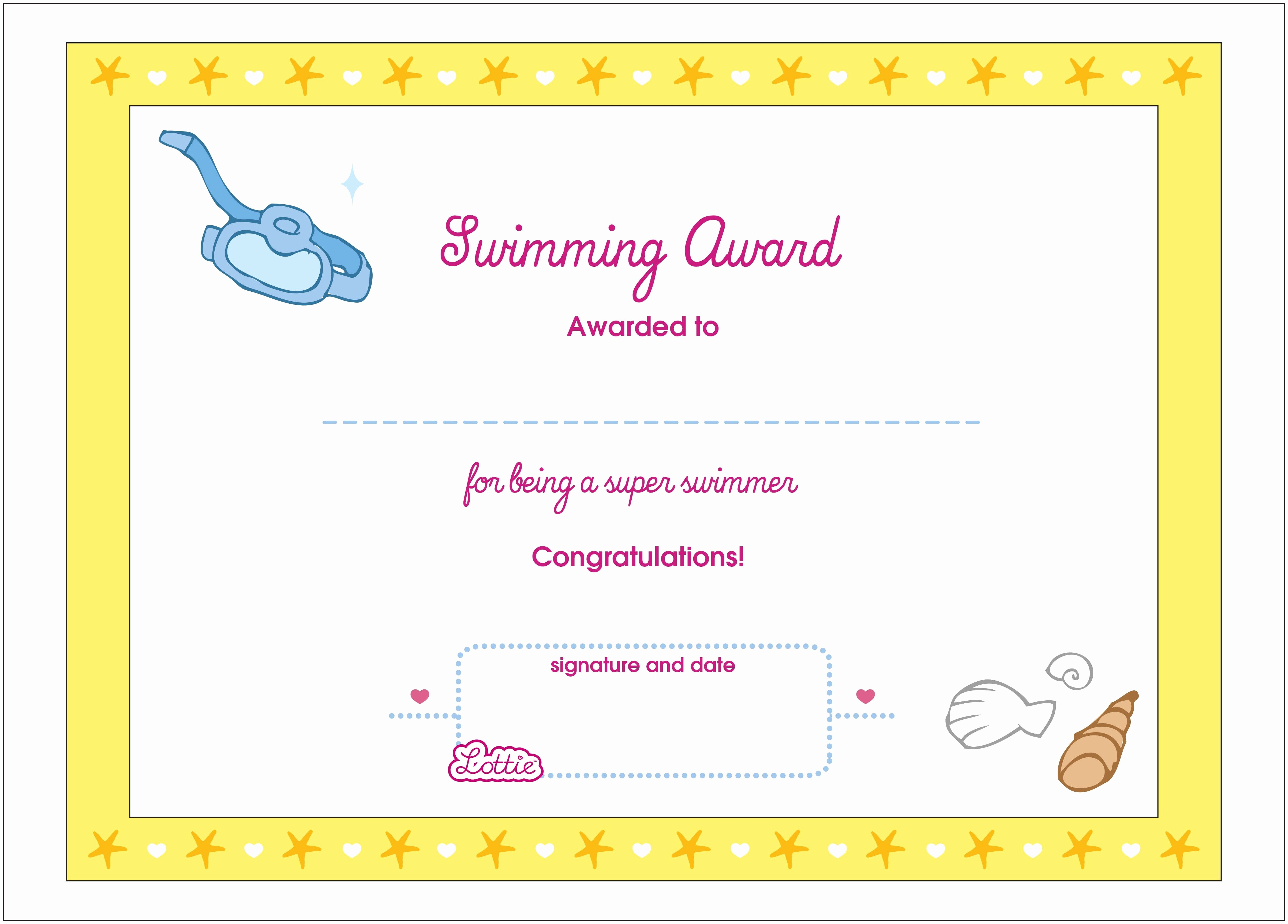 Certificate Of Award Template Free Lovely Template Certificate Participation Template