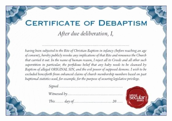 Certificate Of Baptism Word Template New Certificate Of Water Baptism