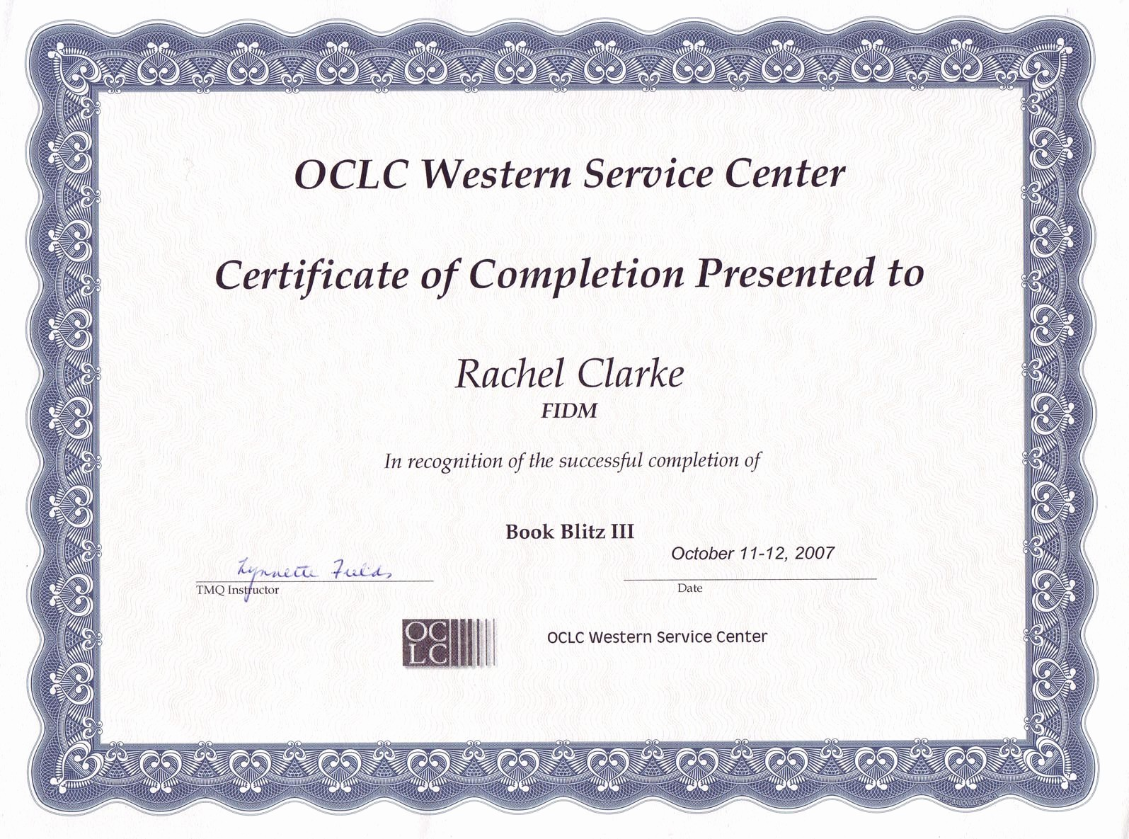 Certificate Of Completion Word Template Beautiful 13 Certificate Of Pletion Templates Excel Pdf formats