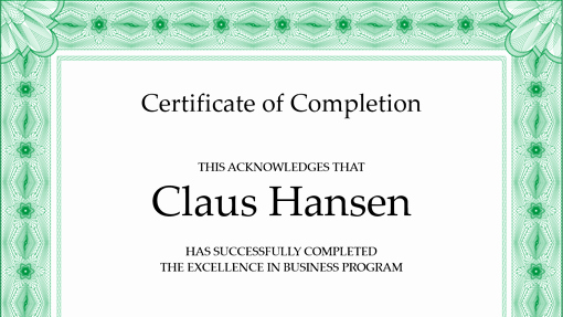 Certificate Of Completion Word Template Elegant 7 Free Certificate Of Pletion Templated Excel Pdf formats
