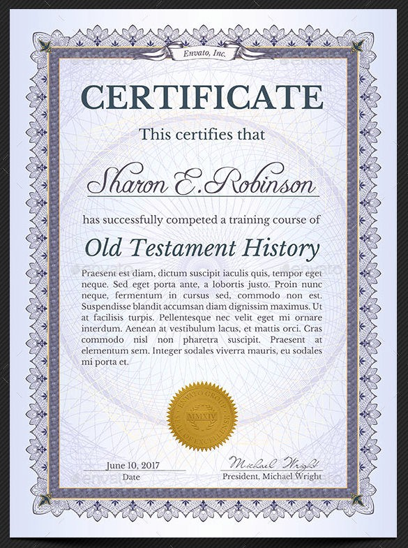 Certificate Of Completion Word Template New 38 Pletion Certificate Templates Free Word Pdf Psd
