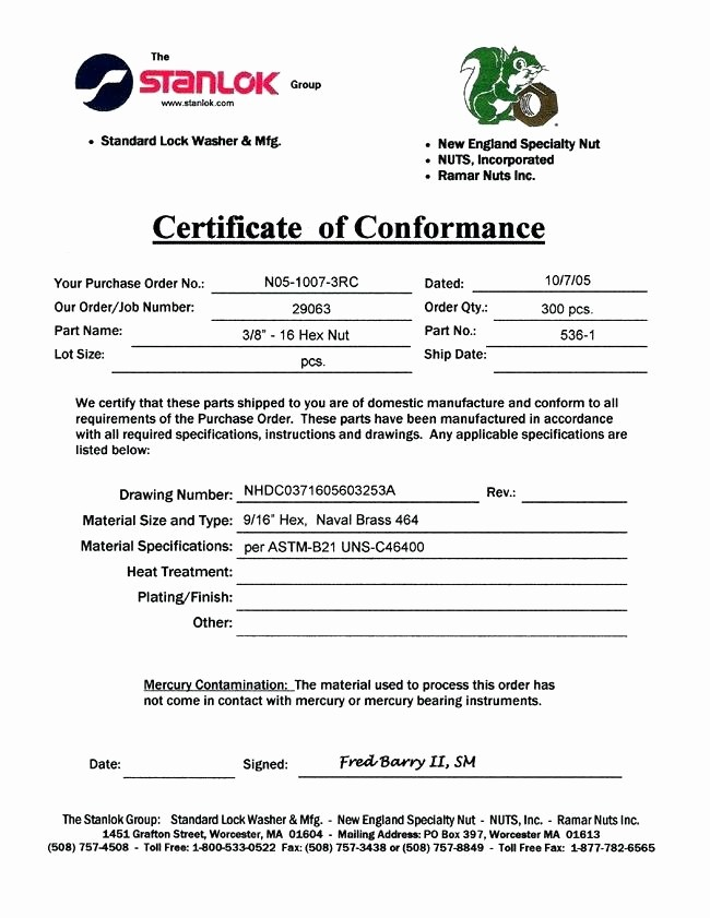 Certificate Of Compliance Template Word Best Of Examples Executive Resumes Certificate Conformity