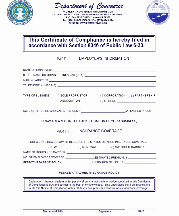 Certificate Of Compliance Template Word Lovely 8 Free Sample Professional Pliance Certificate