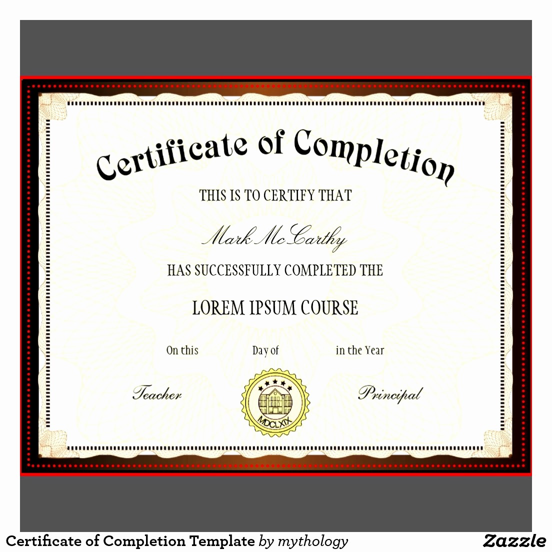 Certificate Of Course Completion Template Fresh Blank Certificates Pletion Mughals