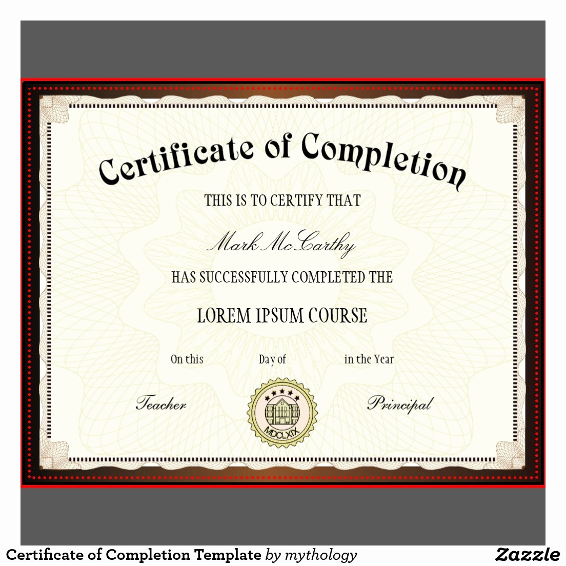 Certificate Of Course Completion Template Fresh Free Printable Certificates