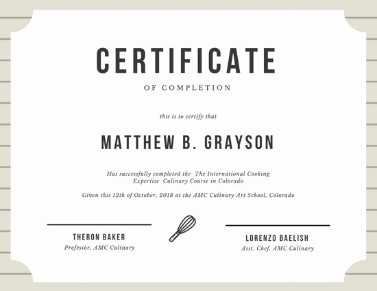Certificate Of Course Completion Template Luxury Customize 265 Pletion Certificate Templates Online Canva