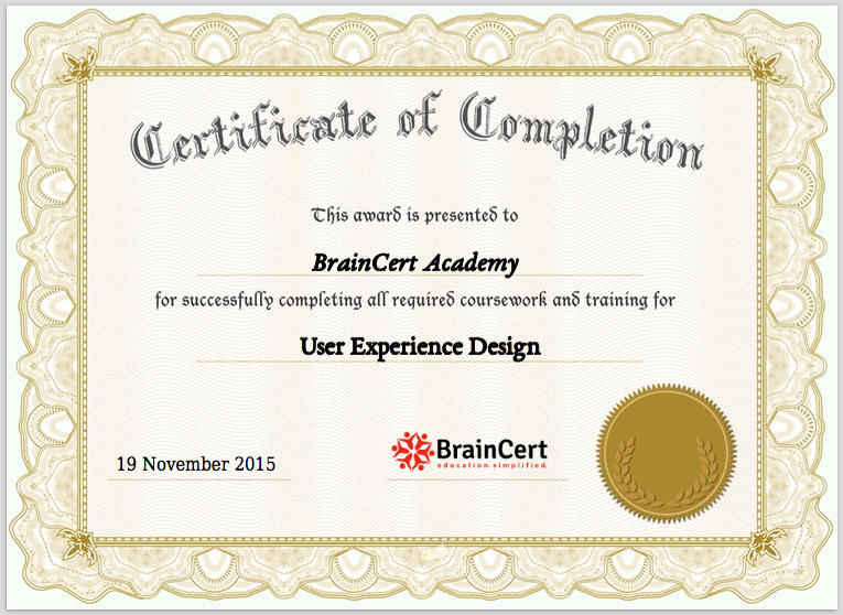 Certificate Of Course Completion Template New Improve Student Retention with Line Course and Test
